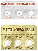 お薬について4.混合ホルモン剤(商品名 プラノバール、ソフィアA)