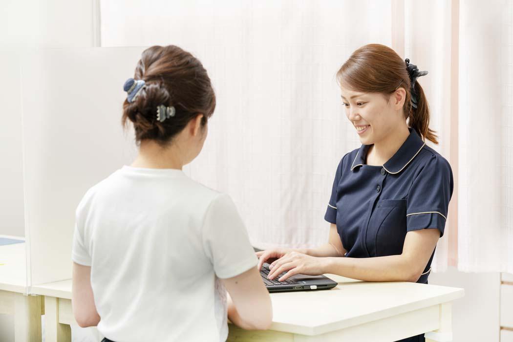 不妊治療専門なかむらレディースクリニック診察写真